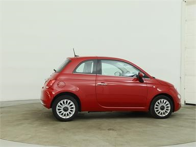 FIAT 500 1.2 Lounge 3dr Petrol - RED - PK17XRG - 3 Door Hatchback