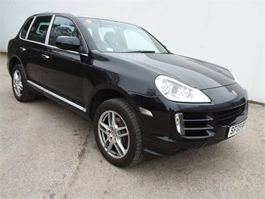 PORSCHE CAYENNE Diesel 5dr Tiptronic S Diesel - BLACK - SF09MRH - 5 Door Estate
