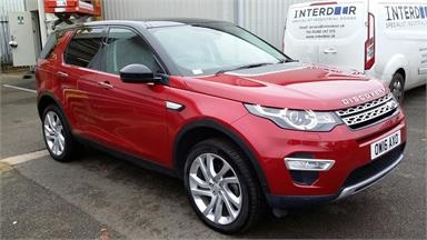 LAND ROVER DISCOVERY SPORT 2.0 TD4 180 HSE Luxury 5dr Auto Diesel - RED - OW16AXO - 5 Door Estate