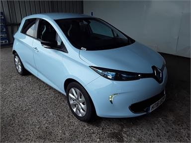 RENAULT ZOE 65kW i Dynamique Nav 22kWh 5dr Auto Electric - BLUE - HT16UOP - 5 Door Hatchback