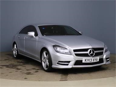 MERCEDES-BENZ CLS CLS 250 CDI BlueEFFICIENCY AMG Sport 4dr Tip Auto Diesel - SILVER - KY13XYA - 4 Door Coupe