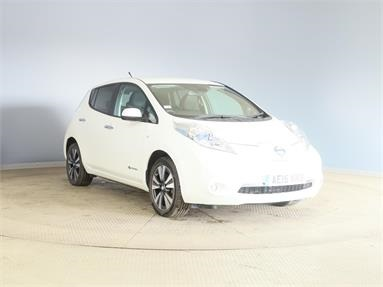 NISSAN LEAF 80kW Tekna 24kWh 5dr Auto Electric - WHITE - AE15WNB - 5 Door Hatchback