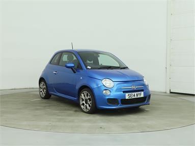 FIAT 500 1.2 S 3dr Petrol - BLUE - SE14WYF - 3 Door Hatchback