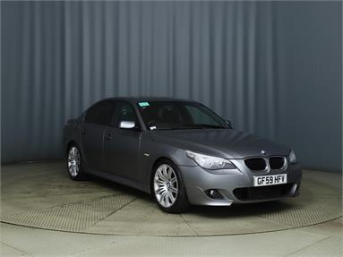 BMW 5 SERIES 520d M Sport 4dr [177] Diesel - GREY - GF59HFV - 4 Door Saloon