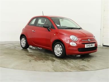 FIAT 500 1.2 Pop 3dr Petrol - RED - SH16WVZ - 3 Door Hatchback