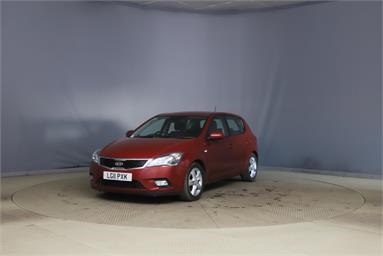 KIA CEED 1.6 CRDi 89 2 EcoDynamics 5dr Diesel - RED - LG11PXK - 5 Door Hatchback