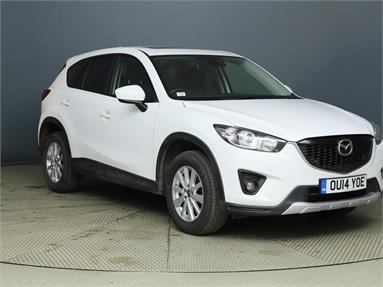 MAZDA CX-5 2.2d SE-L Lux Nav 5dr Diesel - WHITE - OU14YOE - 5 Door Estate