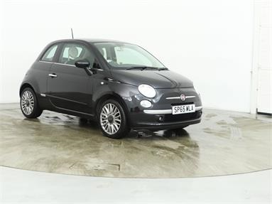 FIAT 500 1.2 Cult 3dr Petrol - BLACK - SP65WLA - 3 Door Hatchback