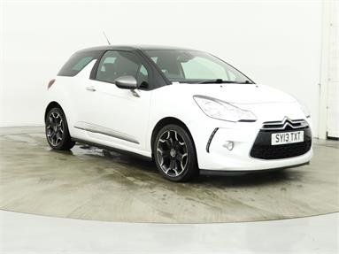 CITROEN DS3 1.6 e-HDi Airdream DStyle Plus 3dr Diesel - WHITE - SY13TXT - 3 Door Hatchback
