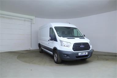 FORD TRANSIT 350 L3 DIESEL RWD 2.2 TDCi 125ps H2 Van Diesel - WHITE - LD15LSF - 5 Door Panel Van