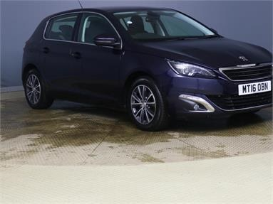 PEUGEOT 308 1.6 BlueHDi 120 Allure 5dr Diesel - BLUE - MT16OBN - 5 Door Hatchback