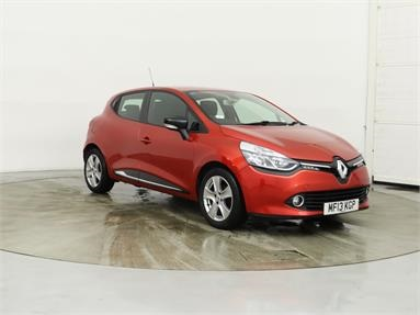 RENAULT CLIO 1.2 16V Dynamique MediaNav 5dr Petrol - RED - MF13KGP - 5 Door Hatchback