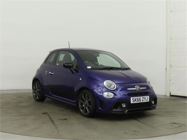 ABARTH 595 1.4 T-Jet 145 3dr Petrol - BLUE - SK66ZYJ - 3 Door Hatchback