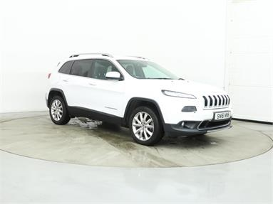JEEP CHEROKEE 2.2 Multijet 200 Limited 5dr Auto Diesel - WHITE - SN16NNB - 5 Door Estate