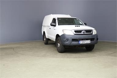 Used TOYOTA HILUX for sale at Van Auctions   Manheim