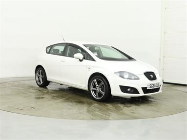 SEAT LEON 1.2 TSI S Copa 5dr [6 speed] Petrol - WHITE - SG61GUX - 5 Door Hatchback