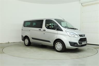 FORD TOURNEO CUSTOM 300 TREND  Diesel - SILVER - PY15NHX - 5 Door Panel Van