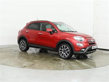 FIAT 500X 1.6 Multijet Cross Plus 5dr Diesel - RED - SJ15VLX - 5 Door Hatchback