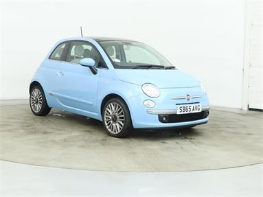 FIAT 500 1.2 Lounge 3dr [Start Stop] Petrol - BLUE - SB65AVG - 3 Door Hatchback