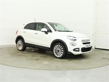 FIAT 500X 1.6 Multijet Lounge 5dr Diesel - WHITE - SA16GPS - 5 Door Hatchback