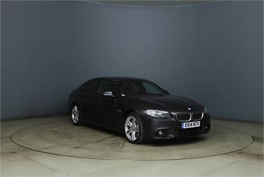 BMW 5 SERIES 520d M Sport 4dr Step Auto Diesel - GREY - EK14NTV - 4 Door Saloon
