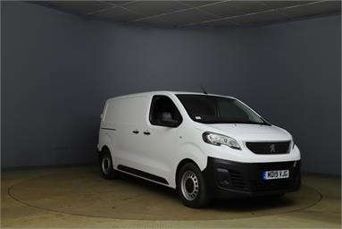 PEUGEOT EXPERT STANDARD DIESEL 1000 1.6 BlueHDi 115 Professional Van Low Roof Diesel - WHITE - MD19VJG - 6 Door Panel Van