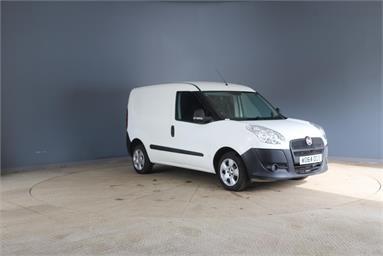 FIAT DOBLO CARGO SWB DIESEL 1.3 Multijet 16V Van Start Stop Diesel - WHITE - WO64OGS - 5 Door Panel Van