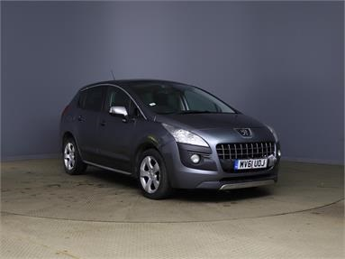 PEUGEOT 3008 1.6 HDi 112 Exclusive 5dr Diesel - GREY - MV61UOJ - 5 Door Hatchback