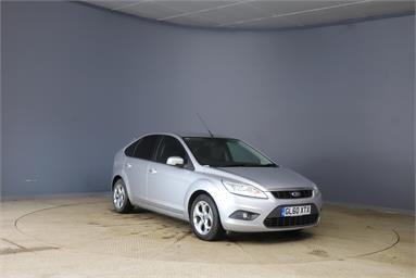 FORD FOCUS 1.6 Sport 5dr Petrol - SILVER - GL60XTX - 5 Door Hatchback