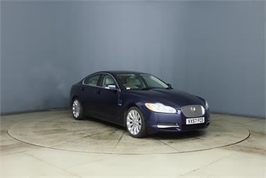 JAGUAR XF 3.0 V6 Premium Luxury 4dr Auto Petrol - BLUE - VX57FCO - 4 Door Saloon