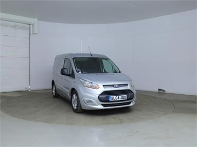 FORD TRANSIT CONNECT 200 L1 DIESEL 1.6 TDCi 115ps Limited Van Diesel - SILVER - BL64JGU - 5 Door Panel Van