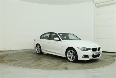 BMW 3 SERIES 335d xDrive M Sport 4dr Step Auto Diesel - WHITE - YC65VJF - 4 Door Saloon