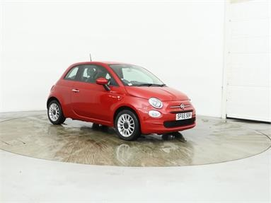 FIAT 500 1.2 Pop Star 3dr Petrol - RED - SF65SER - 3 Door Hatchback