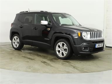 JEEP RENEGADE 1.6 Multijet Limited 5dr Diesel - BLACK - LR16VCC - 5 Door Estate