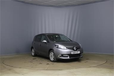RENAULT SCENIC 1.5 dCi Dynamique TomTom Energy 5dr [Start Stop] Diesel - GREY - SA64GFY - 5 Door MPV