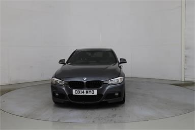 BMW 3 SERIES 330d M Sport 4dr Step Auto Diesel - GREY - DX14MYO - 4 Door Saloon