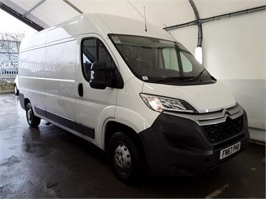 CITROEN RELAY 35 L3 DIESEL 2.0 BlueHDi H2 Van 130ps Enterprise Med Roof LWB Diesel - WHITE - FN67PHO - 5 Door Panel Van