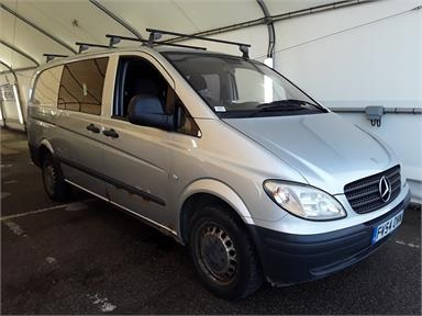 MERCEDES-BENZ VITO LONG DIESEL 109CDI Van Diesel - SILVER - FV54OVN - 5 Door Window Van
