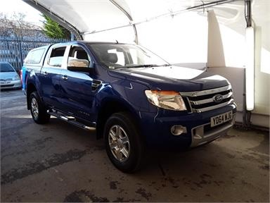 FORD RANGER DIESEL Pick Up Double Cab Limited 2.2 TDCi 150 4WD Auto Diesel - BLUE - YD64WJG - Pick Up Body