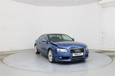 AUDI A5 2.0 TDI SE 2dr [Start Stop] Diesel - BLUE - FR10AYT - 2 Door Coupe